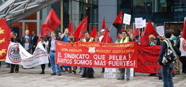 Nace seccional sindical para limpiadores