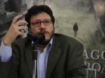 Santiago Gamboa en aniversario de Colombiage