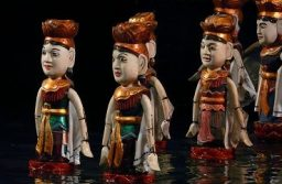 The incomparable water puppets