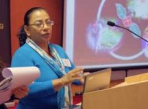 """Fátima Espinoza: """"Climate change, is lethal for fair trade"""""""