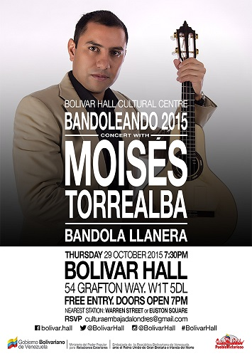 An evening of mandolin with Moises Torrealba