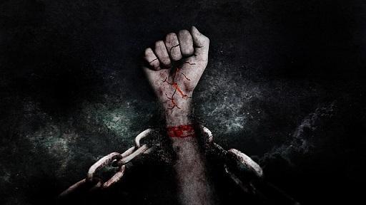 freedoom jail prison hand pixabay