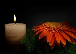 vela fuego noiche luz pixabay