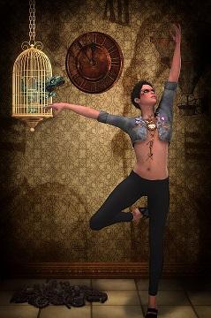 INMIGRANTE BAILArin danza belelza pixabay