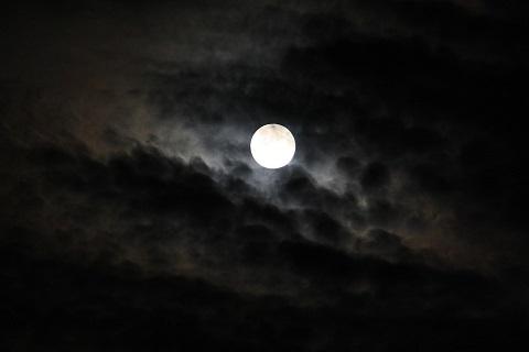 ciclo noche luna nostalgia pixabay