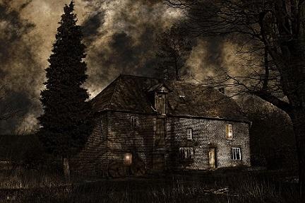 casa soledad noche oscuridad inglaterra pixabay