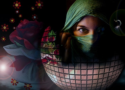 mujer arabe pixabay