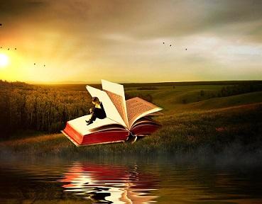 libros children kid niños volar pixabay