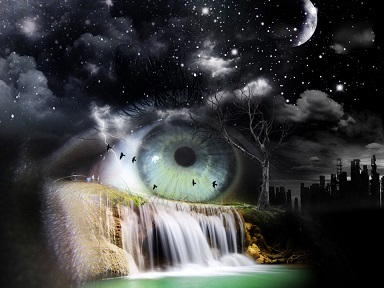 ojo agua tormenta pixabay