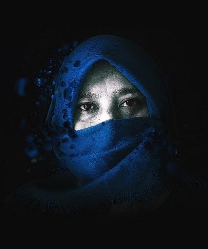 mujer velo islam musulman pixabay