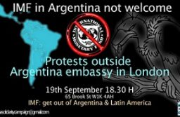 IMF: get out of Argentina!