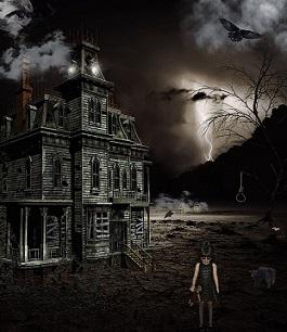 casa noche niña soledad miedo temor pixabay