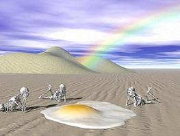 esqueletos muerte desierto inmigr pixabay