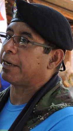 tierra grande farc comandante Solís Almeida