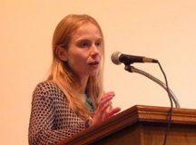 Carolina Gottardo, defendiendo derechos de mujeres inmigrantes