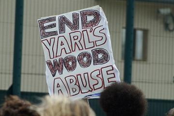 Mabel Gawanas protest detencion yarls wood Foto MarcosOrtiz (10)