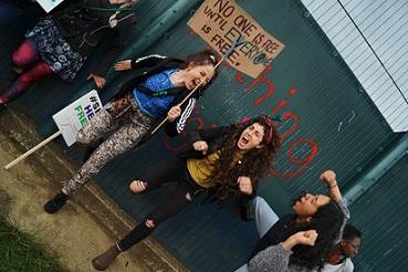 Mabel Gawanas protest detencion yarls wood Foto MarcosOrtiz (7)