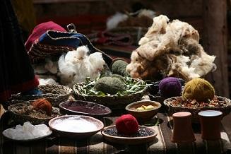 Multicultural etnic mesa tejidos cultura pixabay
