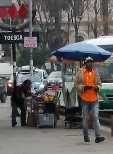 Chile Haitiano en una calle foto Pablo sapag