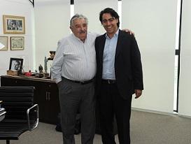Marco con Pepe Mujica_Uruguay