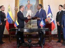 Bi-national co-operation between Venezuela and Haiti