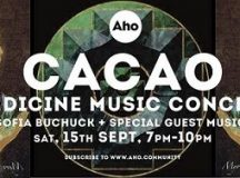 Cacao medicine music concert