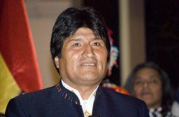 Evo Morales - Photo by Sebastian Baryli.Flickr bit.ly/2Tutd68. License Creative Commons https://bit.ly/1mhaR6e