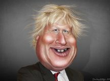Boris Johnson - Caricature. Caricature by DonkeyHotey. Flickr bit.ly2JfYA1M. CC Creative Commons bit.ly/1mhaR6e
