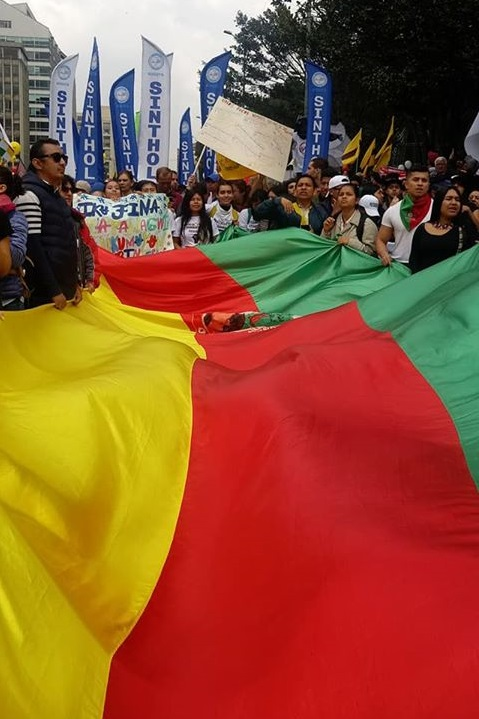 Silence on the indigenous genocide atrocity in Colombia