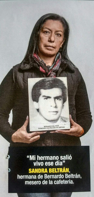 Sandra Beltrán: disappearance, impunity and revictimisation