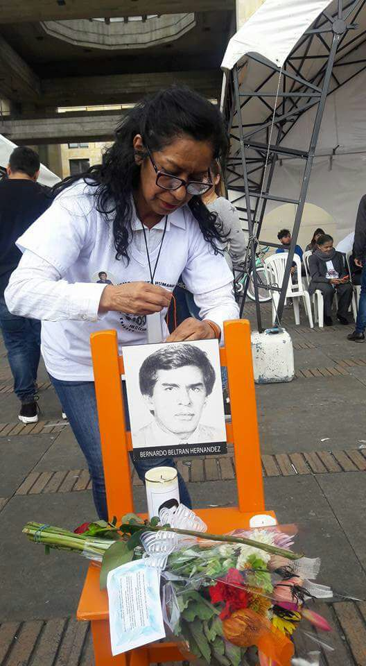 Sandra Beltrán: half a lifetime in search of her brother