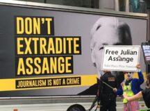 Julian Assange extradition hearing / Sep. 7