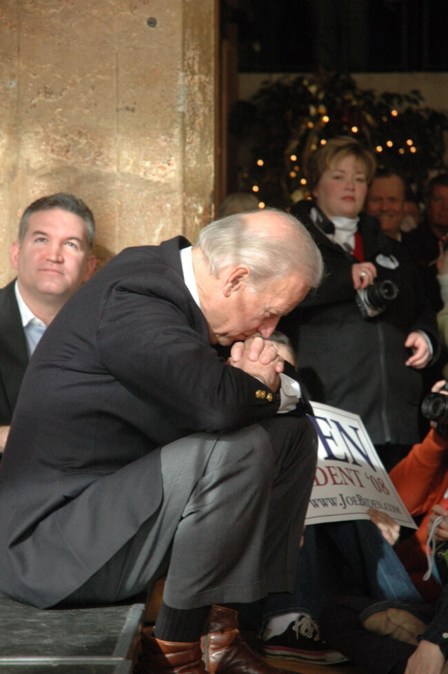 Joe Biden. Photo by WEBN-TV Fickr Joe Biden httpswww.flickr Link https://www.flickr.com/photos/politicalpulse/2155405056/