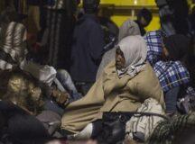 The migrant caravan through Central America