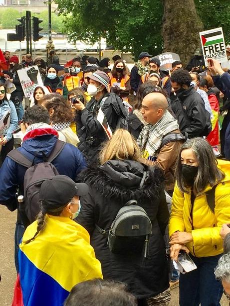 Inmigrantes y activistas: Yonatan Mosquera, no podemos callar