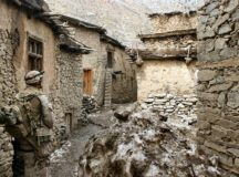 Afghanistan, the no man's land others left